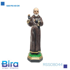 Bira Artigos Religiosos - SAO PIO 40 CM Cód. RSSO8044