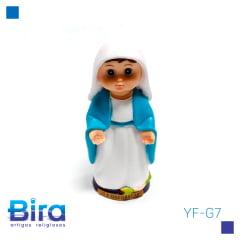 N. Sra. das Graças Emborrachada Infantil - 8cm - Cód. YF-G7