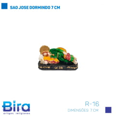 SAO JOSE DORMINDO 7 CM COD. R-16