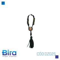 DEZENA DE CARRO N 10 SB MEDALHA OCTAGONAL C/ 3 - CÓD. DZ025